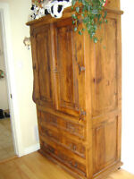 Armoire style rustique / Rustic style wardrobe