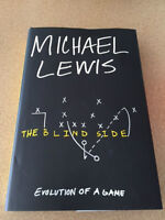 Michael Lewis-The Blind Side hard cover