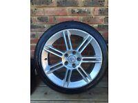 "Seat sport bbs 18"" 5x112 alloy wheels leon tdi fr reference VW golf Jetta Passat exeo altea"
