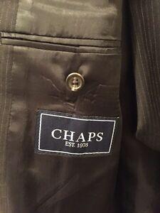 Chaps Ralph Lauren pinstripe suit in perfect shape.  Cambridge Kitchener Area image 2