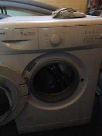 Beko 5kg white washing machine