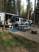 Palomino hybrid travel trailer