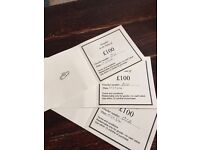 £300 gift vouchers for Kenneth Moore jewellers