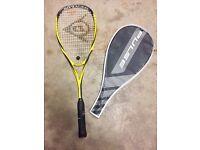 X2 Dunlop and X1 Wilson squash rackets