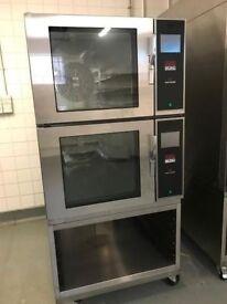 mono double stack combi digital oven