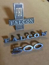 3 Genuine Chrome Ford Falcon Badges Coal Point Lake Macquarie Area Preview