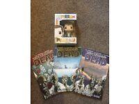 The Walking Dead Volume 1-3 + Rick Grimes