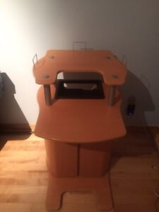 Game console and tv stand in excellent condition