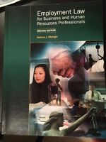 Employment Law :for business and human resource professionals