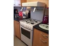 White New world gas cooker good condition
