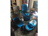 £325 - SilverCross Surf 2 Travel System Inc. Car Seat & Accessories