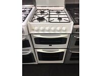 PARKINGSON 50CM ALL GAS COOKER IN WHITE.