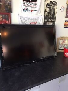 Phillips 40 inch flat screen TV sound but no picture
