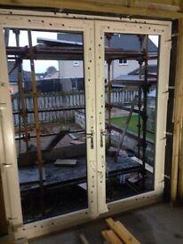 2.0 w x 2.3h pvc patio door / frame