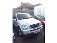 Mercedes ML270 cdi auto family pack