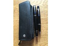 Rare Mont Blanc Pen&Pencil Set with case