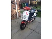 baotian 50 cc with 80cc kit fitted