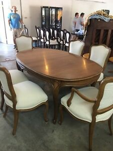 Light brown dinning set