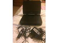 Portable Philips DVD player PET721D