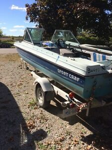 14' boat 50hp force
