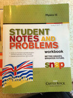 Physics 12 - Student Notes and Problems workbook