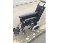 Light folding wheelchair