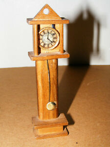 Wooden Doll Furinture - Grandfather Clock