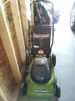 electric lawnmower and eletric cord