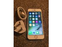 Apple iPhone 6 , Gold 16 gb Vodafone network