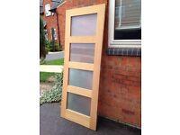 Oak Glazed Internal Door