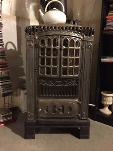 Antique Refurbished Parlour Stove-REDUCED