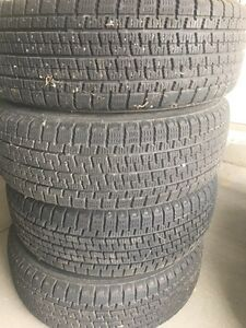 Winter tires and rims  for sale.