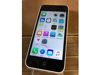 iPhone 5c on EE White