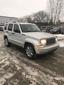 2008 Jeep Liberty 4x4 Limited Edition Certified and Etested