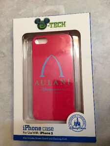 DISNEY AULANI HAWAII IPHONE 5, 5S PINK CASE **NEW**