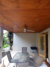 VJ ceiling stained like cedar hoop pine ply wood lining board Brookwater Ipswich City Preview