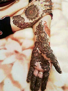 Henna body artist / Henna tattoos & custom work!! Mehndi Windsor Region Ontario image 6
