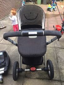 Lovely my4 mothercare 3in1 with easy fix base
