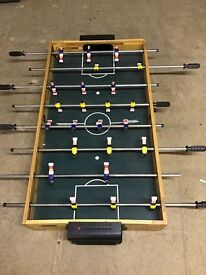 Table top football!