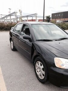 2003 Black Civic Sedan Sport + Winter Tires