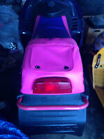 Modified SkiDoo Pink and Purple