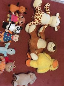 Soft toy bundle £30 - open to offers for individual items.