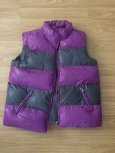 Girls Purple Grey Vest Kitchener / Waterloo Kitchener Area image 1