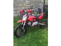 Pitbike for sale 125cc off road bike