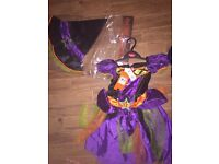Brand new sainsburys Age 5-6 girls Halloween outfits
