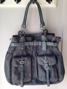 Large Leather COACH bag Peterborough Peterborough Area image 1