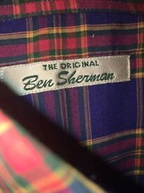 Ben Sherman shirt.