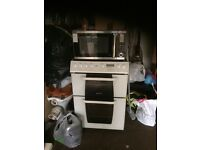 Hot point electric oven