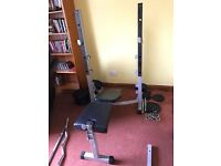 York Fitness Bench & Squat Stand plus 140kg in Cast Iron Plates NEED GONE ASAP