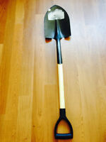 A 1 time used brand new shovel for sale only at $15.